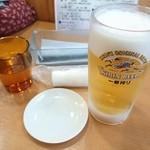 満腹 - 2015年5月 生ビール 540円
