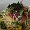 ポポラマーマ - 料理写真:マグロとアボカドのパスタ