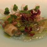 レストラン ラ フィネス - アイナメ