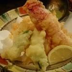 北海料理 るるもっぺ - ズワイガニ天ぷら