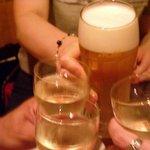 ガレット - 乾杯~!