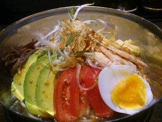 鷹流 - 鷹流東京本店、季節限定「九鬼胡麻冷麺」