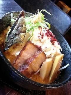 鷹流 - 鷹流辛味噌らーめん「悪鬼WARUGAKI」台湾店、限定味噌チーズラーメン
