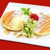 もちもち小麦のスイーツ&カフェ 魔法庵 - 料理写真:もちもち小麦のスイートパンケーキ