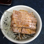 福屋 - ミニチャーシュー丼/¥350