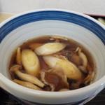 若松 - キノコつけ汁