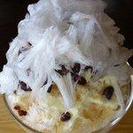 何時も庵 - 小豆と寒天+三温糖