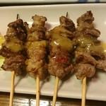 むつ五郎 - 馬串焼き
