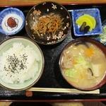 ハーフ タイム カフェ - モーニング和食