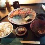 40428934 - 金目鯛カマ焼き定食