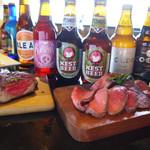 Lantan - 料理写真:クラフト瓶ビール。種類豊富に取り揃えております。
