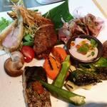 芦屋炭火キッチン MACHIYA - アラカルト色々を少しずつ