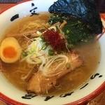 函館麺や 一文字 - 塩ラーメン¥770