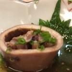 若菜 - 料理写真:先付、烏賊の煮物
