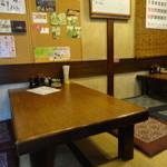入船 - 小上がりのテーブル