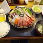 40435438 - 刺身盛り定食¥714