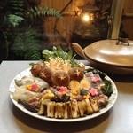 むらさき - すっぽん鍋