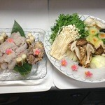 むらさき - 料理写真:鱧鍋
