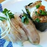 回転寿司 やまと - ③ふぐ3貫 480円税別 2015.7