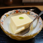 青柳 - 柚子の香りの冷奴