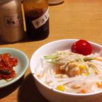 焼肉 赤牛 - ☆ランチのキムチ&サラダ☆