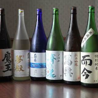 お酒の品揃えが豊富です。