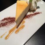 シェーカーズカフェ ラウンジプラス - ベイクドチーズケーキ