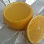 40441603 - オレンジゼリー 生クリームを乗せる前です
