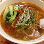 40445485 - 刀削麺マーラー味o(^▽^)o