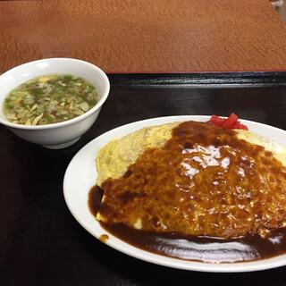一富士食堂 - オムライス 670円