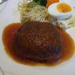 HAYASHI - 料理写真:ハンバーグセット、980円。