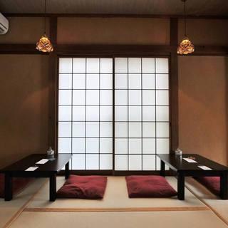 一階は和室になってます。