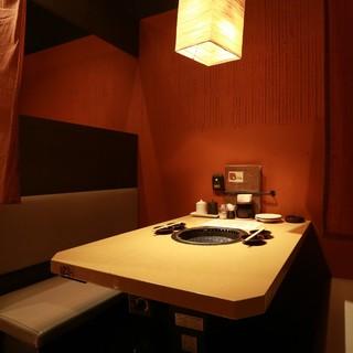 ●和モダンな半個室空間☆2~6名様用テーブルBOX席が充実♪
