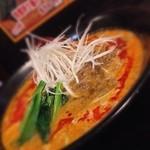 まえたん - 850えん『特製担々麺ライス付き』2015年8月吉日