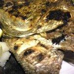 魚や - 鯛頭の塩焼き