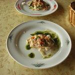 4045834 - 鶏と野菜の冷前菜。