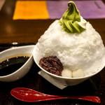 中村藤吉 - ふわふわの氷。白玉はもちもち。