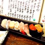 40450965 - コスパ抜群、旬のネタと味は釧路レベルで間違いないです。ぶーちゃんの締めは握り寿司で決まり。ご馳走さまでした!