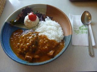 モン蓼科 - カレーハンバーグ 780円