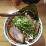 極麺 小次郎  - 赤鬼ねぎらぁ麺
