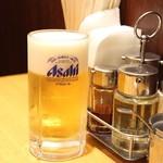 匠 - 生ビール&卓上調味料