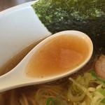つけ麺 弥七  - スープ
