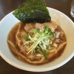 つけ麺 弥七  - 「秋刀魚中華そば」700円
