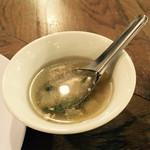 スクンビット ソイ55 - スープ
