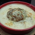 40454639 - ハンバーグ&カレードリア(950円) チーズにカレーと人気の味をまとめて楽しめます