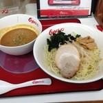 くるまやラーメン - 冷やし味噌つけ麺