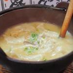 餃子のさんくみ - 炊き餃子(味噌味)