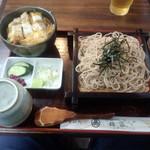 そば処 福家 - カツ丼セット