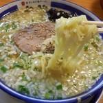 き蔵 - 麺は平打ち 2015.7