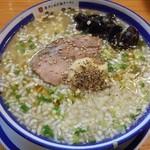 き蔵 - 牛タンねぎ塩ラーメン 2015.7